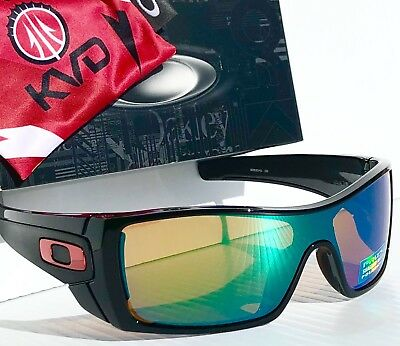 445004ba91 NEW  Oakley Batwolf KVD Black POLARIZED Shallow Water Lens Sunglass  oo9101-51