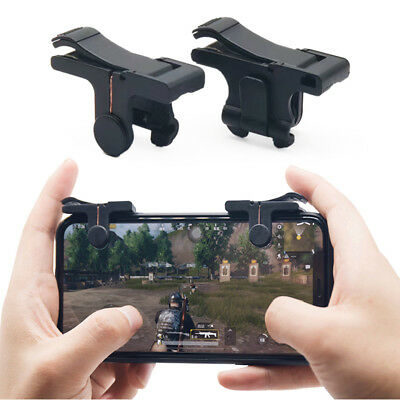 2xPhone Game Trigger Fire Button Handle L1R1 Shooter Controller PUBG UK STOCK sa