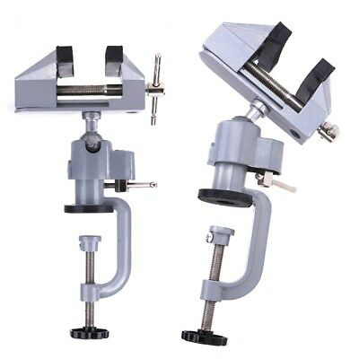 360 Degree Swivel Vise Portable Table Bench Vice Clamp Mini Vise Anvil Cast