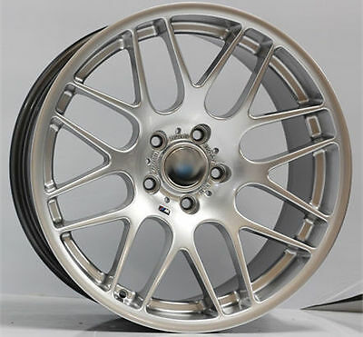 19inch APEC Silver Style New Wheels & Tyres! CSL STYLE FITS MOST BMW 3 SERIES