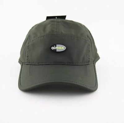 NIKE AIR MAX Aw84 Qs Olive Green Neon 5 Panel Adjustable Cap Hat Dri ... 33768ea16ff