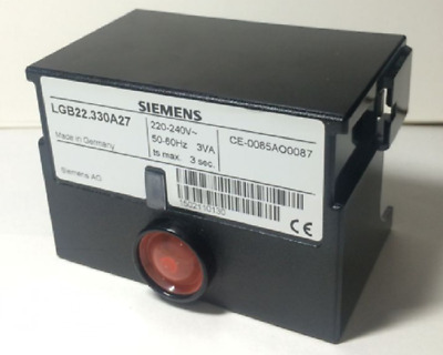 LGB22.330A27 SIEMENS Control Box For Oil or Gas Burner Controller 220-240V