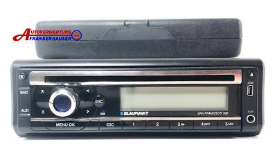 Blaupunkt San Francisco 300 Autoradio Mini USB Aux CD-Player MP3-Player