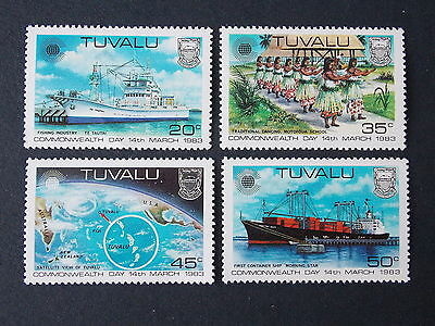 Tuvalu 1983 Commonwealth Day MNH