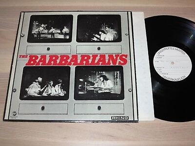the Barbarians PROMO LP - Same / German Sample Press in VG+