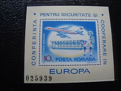 romania - stamp yvert and tellier bloc n° 129 n (Z14) stamp romania