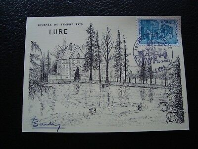 FRANCE - card 1st day 24/3/1973 (day du timbre) (B15) french (A)