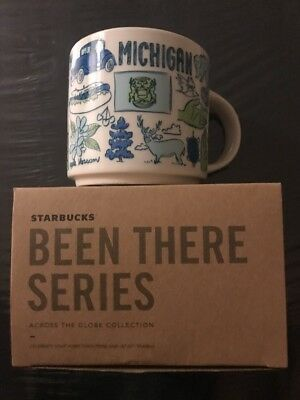 Starbucks MICHIGAN BEEN THERE MUG