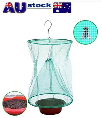 Reusable Kitchen Fly Bug Insect Pest Net Catcher Cage Trap Killer Hanging Bags