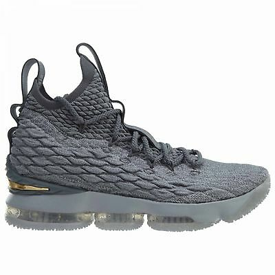 7217e53017974 Nike Zoom Lebron XV 15 Basketball Unisex Shoes Wine Red All Gold ...