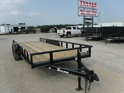 83 x 20 20ft Farm Tractor Mower Open Utility UTV Cargo Trailer DFW TX OK La ARK