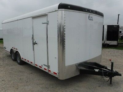Cargo Craft 8.5 x 20 Dragster Enclosed Car ATV Motorcycle UTV Hauler TX OK ARK