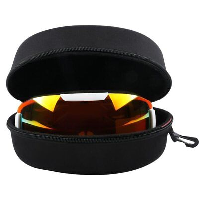 Waterproof Snowboard Snow Ski Goggles Glasses Protection Carrying Hard Case Box