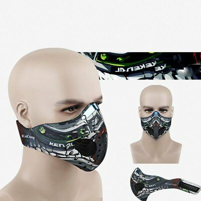 Cycling Bicycle Bike Motorcycle Anti Dust Outdoor Ski Half Face Mask Filter NEW