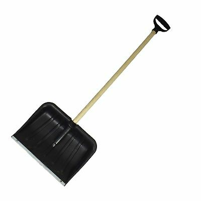 Snow Leaf Grass Shovel Scoop Remover Removal Clearer Clearing Metal Edge