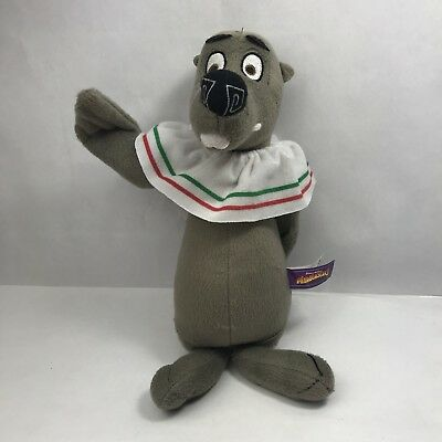 Marty The Seal.madagascar 3 Soft Toy.beanie