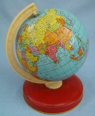 1960,s TIN PLATE GLOBE, SUPERB CONDITION.