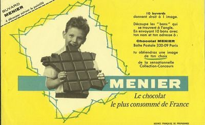 BUVARD 116706 MENIER CHOCOLAT CARTE DE France-JUN