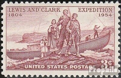 U.S. 679 mint never hinged mnh 1954 expedition