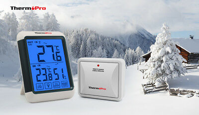 ThermoPro TP65 Digital Wireless Hygrometer Indoor Outdoor Thermometer Wireless