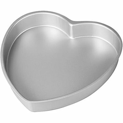 Aluminum Specialty & Novelty Cake Pans Heart Shaped Pan, Inch