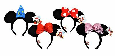 Mickey / Minnie Ears Headband Authentic Disneyland Park Hat or Bow - Brand NEW