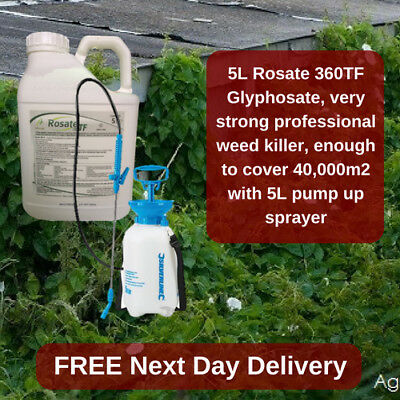 Strong Professional Weed Killer Rosate 36 Kill Grass And Weeds With Pump Sprayer