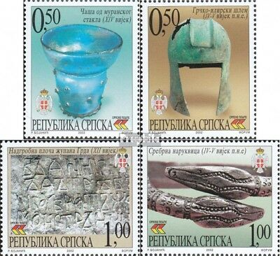 Serbian Republic bos.-h 251-254 mint never hinged mnh 2002 museum objects