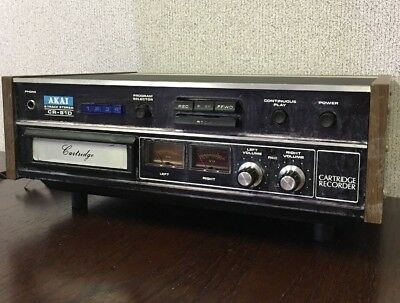 (CC181-S26). AKAI CR-81D Stereo 8 Track Tape Player Recorder