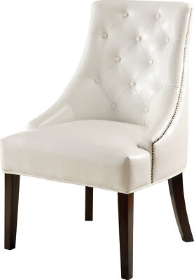 Awesome White Bonded Leather Accent Lounge Chair By Coaster 900283 Alphanode Cool Chair Designs And Ideas Alphanodeonline