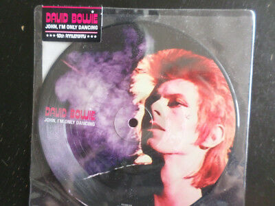 David Bowie - John, I'm Only Dancing; Rare Picture Single; still sealed!