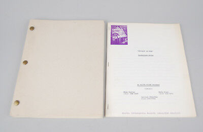 Original Script - Trouble in Mind  Alan Rudolph 3rd Draft Production Notes 1984