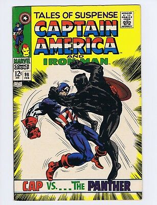 Tales of Suspense 98 (Solid!) Black Panther; 1st brief app. new Zemo (c#19416)