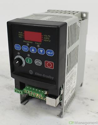 Allen Bradley PowerFlex 4 22A-D4P0N104 AC Motor Drive 480VAC in, 1.5kW 2HP out