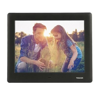 New 7-inch HD Digital Photo Frame IPS LCD Screen with Auto-Rotate/Calendar/Cl