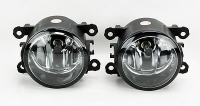 Jaguar S X Type XK Replacement Clear Fog Lights Pair RH LH Right Left