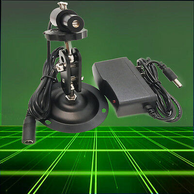 Industrial 532nm 10mW Green Laser LINE Module/with power adapt and bracket