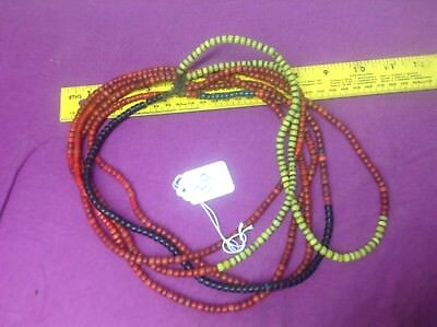 african antiques trade beads Pokot beads necklace jewlery beaded Czech