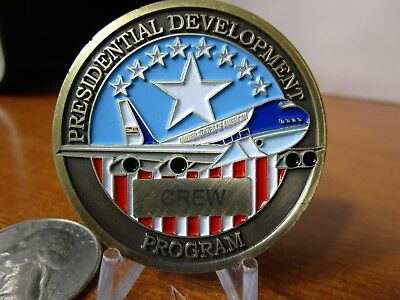 POTUS Air Force One Presidential Development Program Crew Challenge Coin #5727