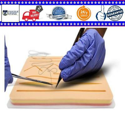 Your Design Medical Suture Pad Practice Training Combo Kit 3 Layer Pocket Tool