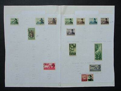 ESTATE: Egypt Collection on pages Part 2 - great item (7822)