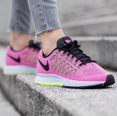 64336cce64df Women s Nike Air Zoom Pegasus 32 Running Shoes Size 9 Pink Pow   Barely Volt