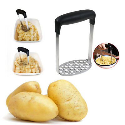 Stainless Steel Potato Masher Ricer Puree Fruit Vegetable Juicer Press Maker Hot
