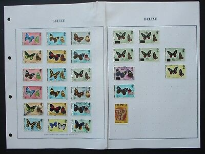 ESTATE: Belize Collection on pages - great item (7924)