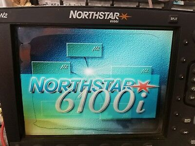 northstar 6000i 10 inch chartplotter working with navionics gold chart card and