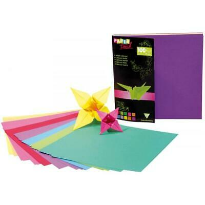 Clairefontaine Origamipapier 12x12cm sortiert Inh.100 (3329680950083) (95008C)