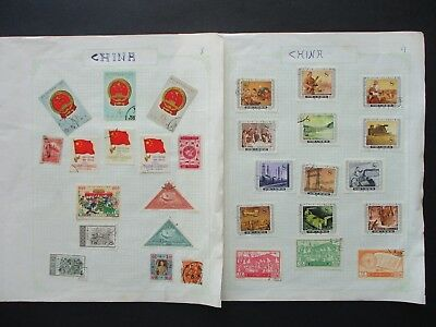 ESTATE SALE: China on pages -  FREE POST (5647)