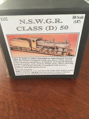 nswgr ho scale model trains D50 AR Kit