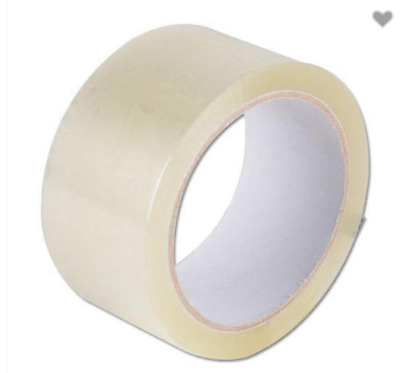 Clear Clean Packing Package Tape 48mm x 75m Sticky Packaging Sealing box