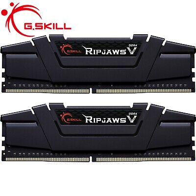 G.Skill Ripjaws V 16GB CL16 RAM Kit Gaming Desktop Memory 2X8GB DDR4 3200MHz
